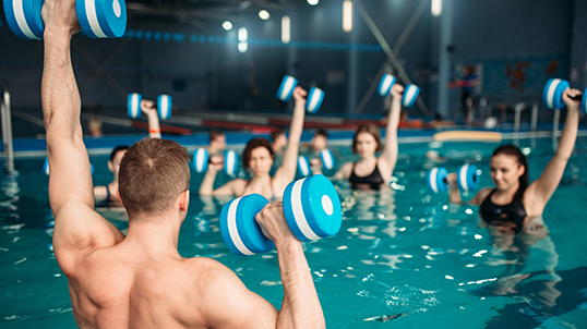 Aqua-Fitness in Mengede